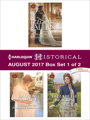 cover image of Harlequin Historical August 2017, Box Set 1 of 2