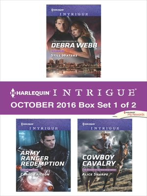 cover image of Harlequin Intrigue October 2016, Box Set 1 of 2