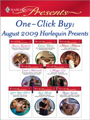 cover image of August 2009 Harlequin Presents