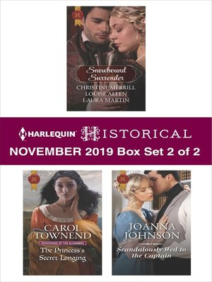 cover image of Harlequin Historical November 2019--Box Set 2 of 2