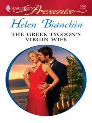 cover image of Greek Tycoon's Virgin Wife