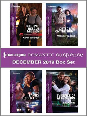 cover image of Harlequin Romantic Suspense December 2019 Box Set