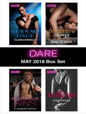 cover image of Harlequin Dare May 2018 Box Set
