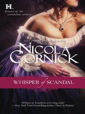cover image of Whisper of Scandal