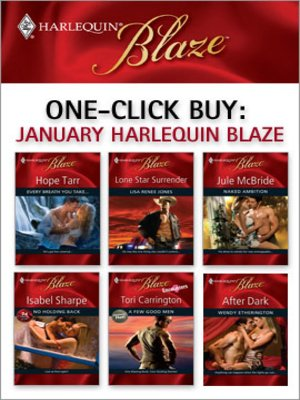 cover image of January 2009 Harlequin Blaze