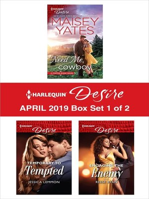 cover image of Harlequin Desire April 2019: Box Set 1 of 2