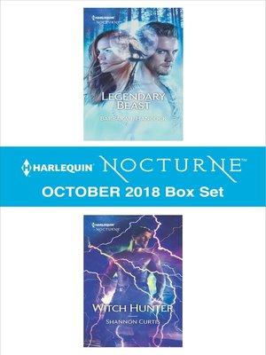 cover image of Harlequin Nocturne October 2018 Box Set