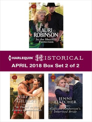 cover image of Harlequin Historical April 2018--Box Set 2 of 2