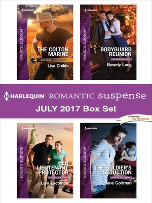 cover image of Harlequin Romantic Suspense July 2017 Box Set