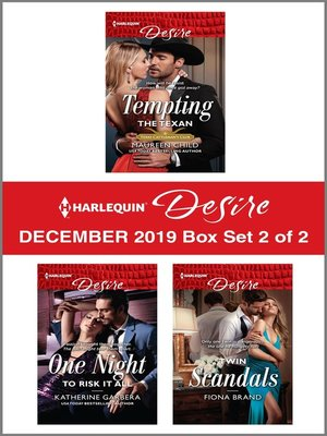 cover image of Harlequin Desire December 2019--Box Set 2 of 2