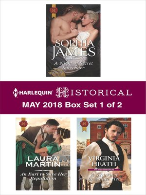 cover image of Harlequin Historical May 2018--Box Set 1 of 2