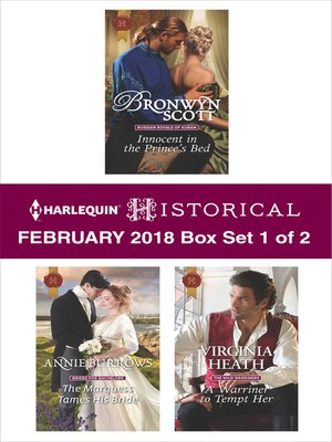 cover image of Harlequin Historical February 2018--Box Set 1 of 2