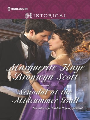 cover image of Scandal at the Midsummer Ball