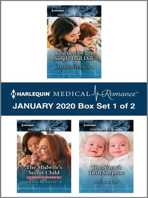 cover image of Harlequin Medical Romance January 2020--Box Set 1 of 2