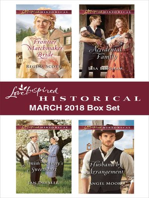 cover image of Love Inspired Historical March 2018 Box Set
