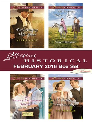 cover image of Love Inspired Historical February 2016 Box Set