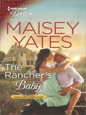 cover image of The Rancher's Baby--A Sexy Western Contemporary Romance