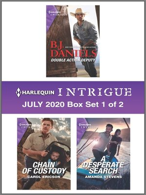 cover image of Harlequin Intrigue July 2020--Box Set 1 of 2