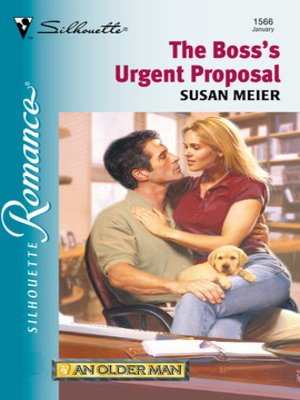 cover image of The Boss's Urgent Proposal