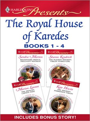 cover image of The Royal House of Karedes books 1-4