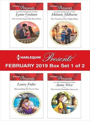 cover image of Harlequin Presents: February 2019, Box Set 1 of 2