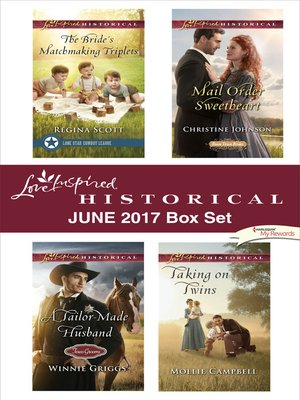 cover image of Love Inspired Historical June 2017 Box Set
