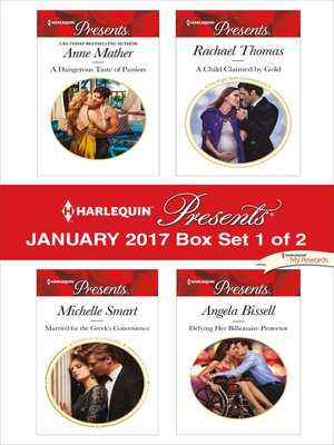 cover image of Harlequin Presents January 2017, Box Set 1 of 2