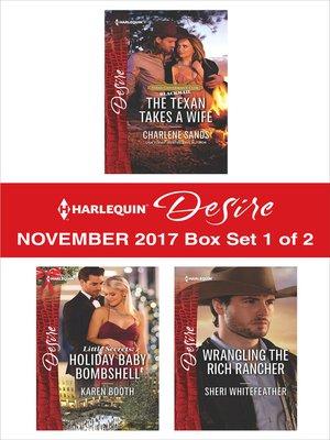 cover image of Harlequin Desire November 2017--Box Set 1 of 2