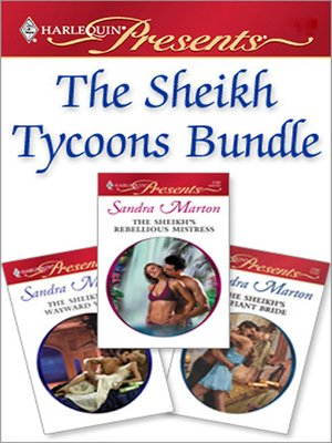 cover image of The Sheikh Tycoons Bundle