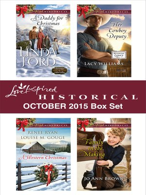 cover image of Love Inspired Historical October 2015 Box Set