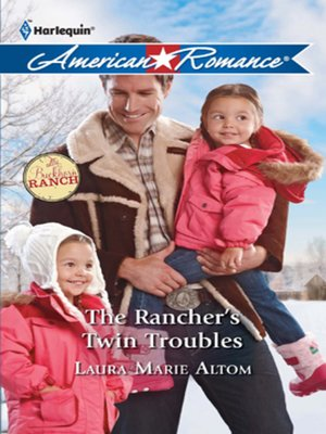 cover image of The Rancher's Twin Troubles