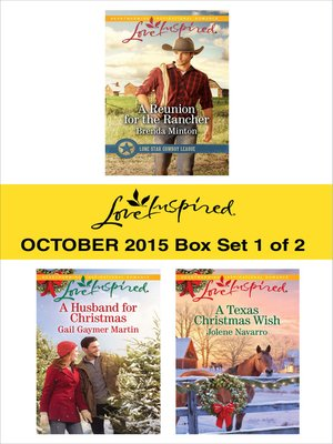 cover image of Love Inspired October 2015, Box Set 1 of 2