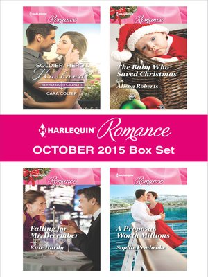 cover image of Harlequin Romance October 2015 Box Set