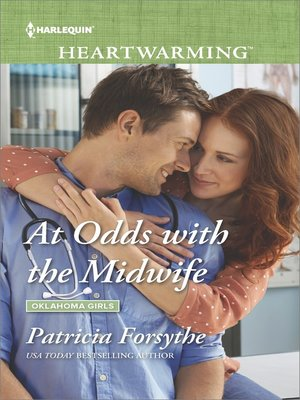 cover image of At Odds with the Midwife--A Clean Romance