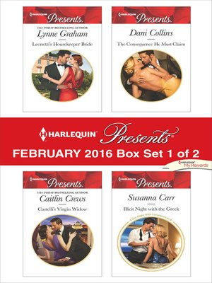 cover image of Harlequin Presents February 2016, Box Set 1 of 2