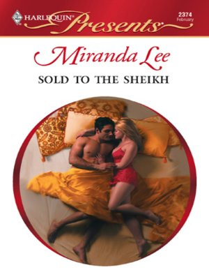 cover image of Sold to the Sheikh
