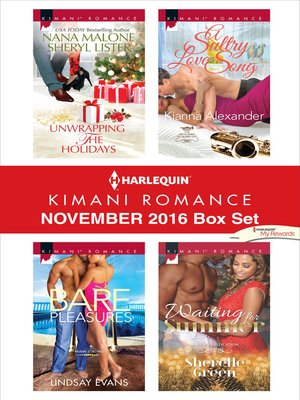 cover image of Harlequin Kimani Romance November 2016 Box Set