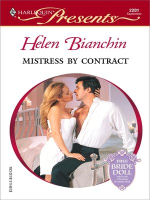 cover image of Mistress by Contract