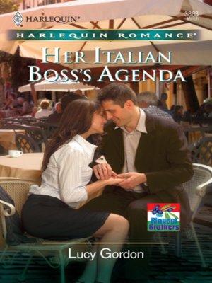 cover image of Her Italian Boss's Agenda