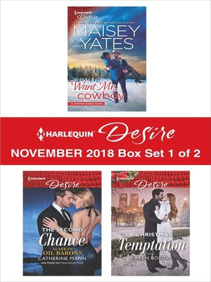 cover image of Harlequin Desire November 2018 Box Set--1 of 2