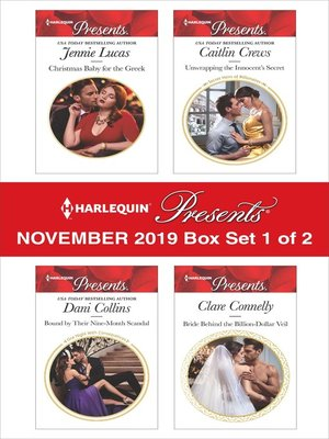 cover image of Harlequin Presents, November 2019, Box Set 1 of 2