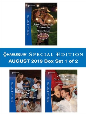 cover image of Harlequin Special Edition August 2019, Box Set 1 of 2
