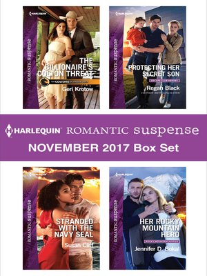 cover image of Harlequin Romantic Suspense November 2017 Box Set