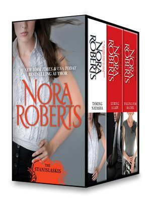 cover image of Nora Roberts Stanislaskis Series, Books 1-3