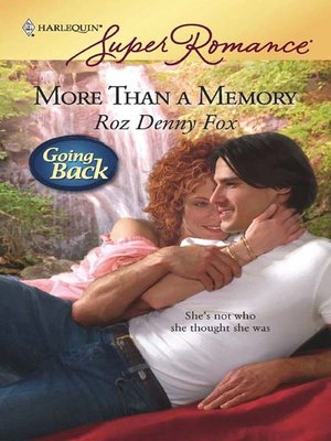 cover image of More Than a Memory