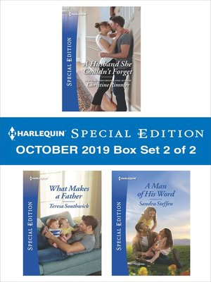 cover image of Harlequin Special Edition October 2019, Box Set 2 of 2