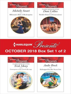 cover image of Harlequin Presents October 2018--Box Set 1 of 2