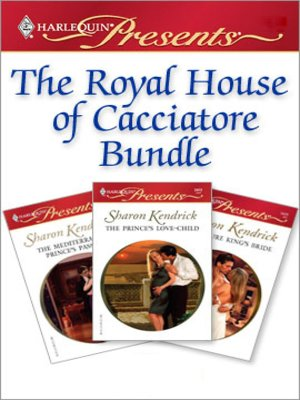 cover image of The Royal House of Cacciatore Bundle