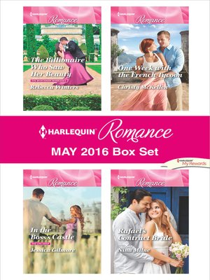 cover image of Harlequin Romance May 2016 Box Set