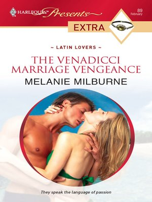 cover image of The Venadicci Marriage Vengeance